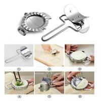 Dumpling Mold Maker + Cutter Edelstahl Teig Presser Wraper Küchenwerkzeug
