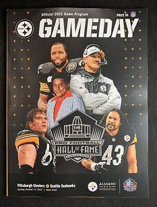 Pittsburgh Steelers Official GameDay Program Vs. Seattle Seahawks 10.17.2021