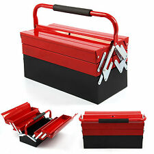 430mm 3 Tier 5 Tray Heavy Duty Professional METAL Storage Cantilever TOOL BOX