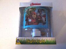 Walt Disney Marvel Avengers Night Light New! Hulk, Iron Man & Captain America
