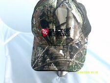 TSC Tractor Supply Co Camo Camouflage Strapback Trucker Hat Baseball Cap
