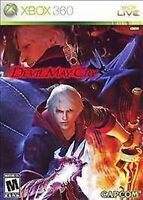 Devil May Cry 4  XBOX 360 Replacement Case--NO GAME INCLUDED