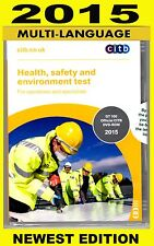 CSCS DVD for Operatives and Specialists 2015 - MULTI-LANGUAGE Edition