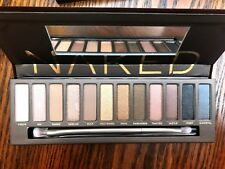 Genuine 🎀 URBAN DECAY NUDO Eyeshadow Palette & Pennello Nuovo