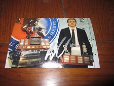 ADAM PELECH AUTOGRAPHED HOF AWARD 4X6 PHOTO # 5
