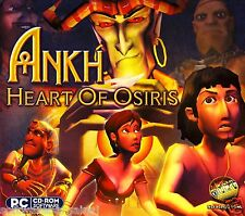 ANKH:HEART OF OSIRIS.BRAND NEW FACTORY SEALED SOFTWARE. SHIPS FAST & SHIPS FREE!