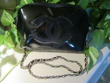 Chanel Cosmetic VIP Patent Makeup Bag