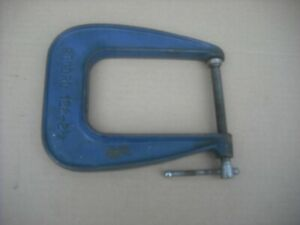 Vintage  Record 122 - 2 1/2 inch Deep Throat G Clamp.