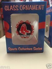 MLB Boston Red Sox 2012 Collector's Series Glass Ornament NEW