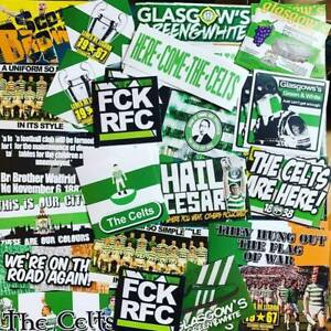 100 x Celtic Ultra Style Stickers inspired by Poster Programme Party Decorations