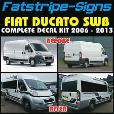 FIAT DUCATO SWB MOTORHOME VINYL GRAPHICS STICKERS DECALS STRIPES CAMPER VAN
