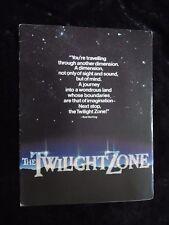 The Twilight Zone Movie british synopsis sheet
