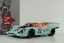 1970 Porsche 917K #22 Gulf 24h le Mans Hobbs Hailwood 1:18 Cmr Diecast