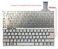 New for Acer Aspire P3-171,P3-131 series laptop Keyboard without frame Silver