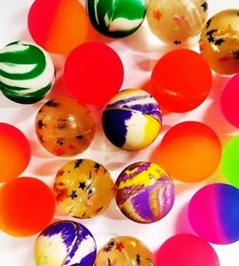 15 Bouncy Jet Balls Ball Children Toy Loot Bags Fillers Kids Gift Birthday Party