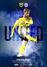 More details for oxford united v rochdale 03/11/2020 ltd print run