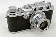 Leitz Leica III b DRP, vintage 35mm camera, lens Elmar 1:3,5 f=5cm, pre war 1939