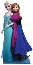 Anna et Elsa Disney La Reine Des Neiges affiche debout grandeur nature découpée