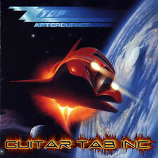 ZZ Top Guitar Tab AFTERBURNER Lessons on Disc