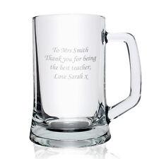 Personalised Pint Tankard , Presentation Box -Engraved Free - Birthdays for Him
