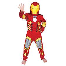 CARNEVALE COSTUME IRON MAN TG.L 7-8 Anni Avengers Supereroi Marvel 110 881322L