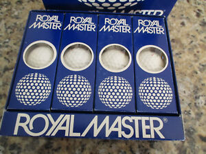 Vintage ROYAL MASTER Golf Ball NEW Old Stock Play or Display 1960-70s