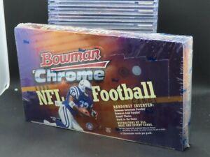 1999 Bowman Chrome NFL Football Factory Sealed Hobby Box Y264