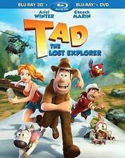 Tad, the Lost Explorer (Blu-ray/DVD, 2014, 2-Disc Set, 3D)  BRAND NEW