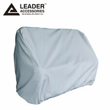 Leader Accessories Gray pontoon Flip Flop Seat Cover