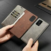 Removable Magnetic Flip Leather Case Cover For Samsung Galaxy A51 A71 A81 A91