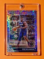 Zion Williamson SILVER PULSAR PRIZM ROOKIE NBA HOOPS PREMIUM STOCK RC - Mint!
