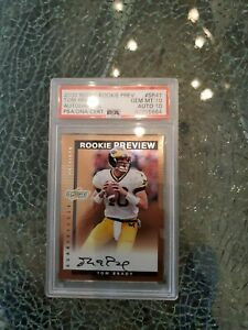 2000 Score Rookie Preview Tom Brady PSA 10
