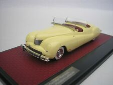 Chrysler NEWPORT Dual Cowl Pheaton 1941 Yellow 1/43 matrix MX20303-021 New