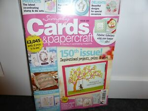 SIMPLY CARDS & PAPERCRAFT MAGAZINE ISSUE 150