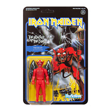 """IRON MAIDEN - Number Of THE BEAST Action Figure Toy ReAction 3.75"""" Collectable"""