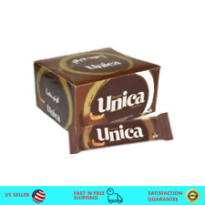 24 Pack - Unica Chocolate Wafer Bars, Gandour Lebanese Snack اونيكا