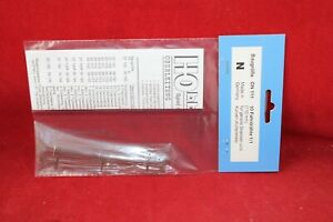 Hobbex ON 111 Spur N Oberleitung 10 x Fahrdrähte 1/1(110mm) für gerade/kurve/Neu
