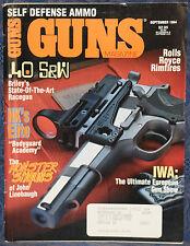 Magazine *GUNS* September 1994 !!! HECKLER & KOCH Model MP5K-PDW SUB GUN !!!