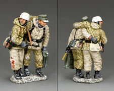 King and Country WW2 tedesco che cadono sul retro, Fallschirmjager BBG109