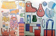 UC Vtg 1960s McCalls Sew Pattern Bean Bag Organizer Gifts Toy Bag Apron Book Hat