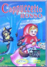 Cappuccetto Rosso (2003) DVD NUOVO SIGILLATO Cartoni Animati De Agostini