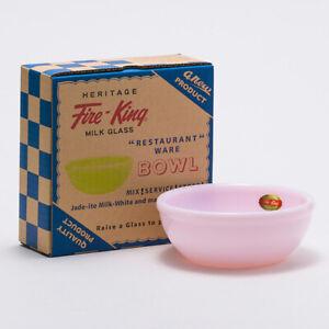Heritage Fire-King 15oz Bowl Rosaite Fire-King Japan