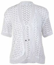 LADIES KNITTED SHRUG CARDIGAN WOMENS TOP SIZE 14 - 24