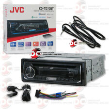 JVC KD-TD70BT 1-DIN CAR AUDIO CD BLUETOOTH STEREO RECEIVER FREE 3.5mm AUX CABLE