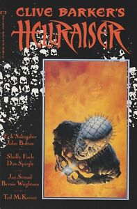 Clive Barker's Hellraiser: Book One. 1989. Epic/Marvel. VF/NM.