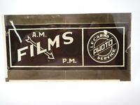 Vintage AM PM Films LF Carna Photo Service Advertising Negative