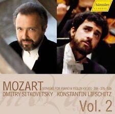 Sonatas for Piano and Violin Vol. 2 (Sitkovetsky, Lifschitz) CD (2008)