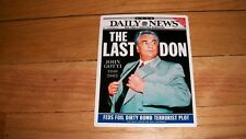 JOHN GOTTI NEWSPAPER STICKER THE LAST DON