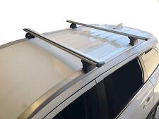 Aerodynamic Roof Rack Cross Bar for Mitsubishi ASX 10-17 Lockable 120cm