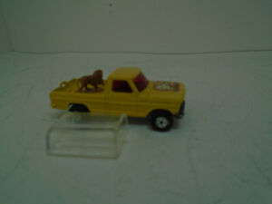 Matchbox Rolamatics Replacement Clear Canopy for# 57-F10 Ford Wildlife Truck OEM